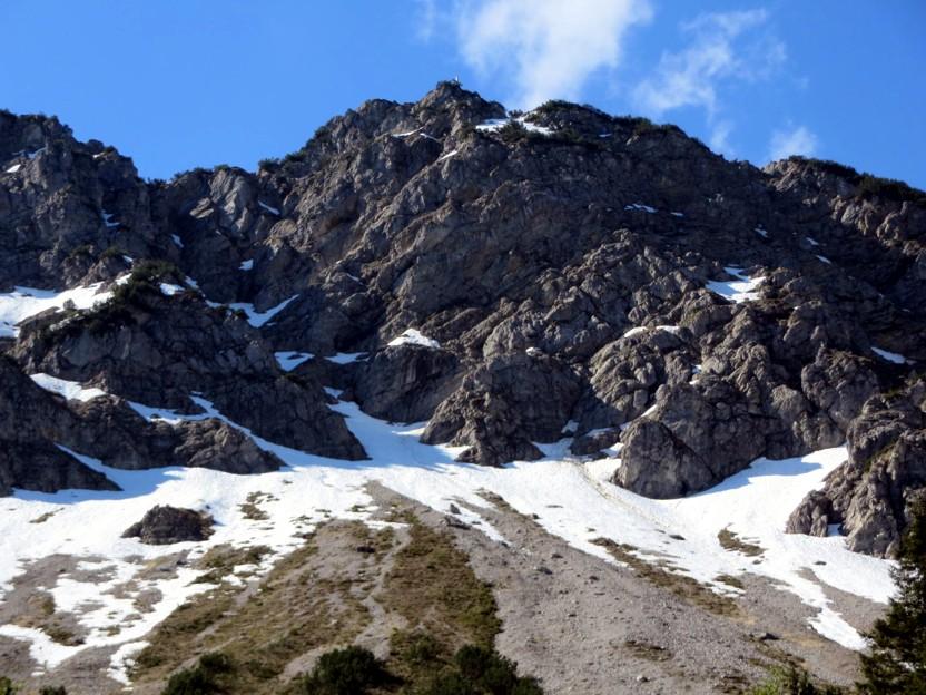 Klettersteig Iseler : Leichter klettersteig salewa auf den iseler m